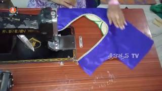 latest blouse back neck designs  easy cutting and stitching