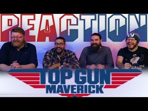 Top Gun: Maverick (2020) – New Trailer REACTION!!