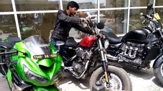 Sports Bike on Rent - Hyderabad -Driven.in (HYD-Vijaywada-Vishakapatnam)
