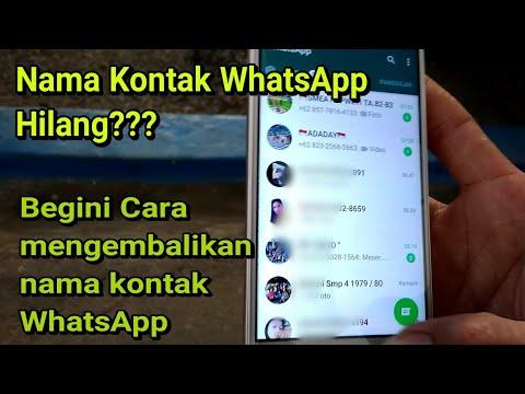 Cara mengembalikan nomor kontak yang terhapus atau hilang di smartphone android dengan menggunakan a.