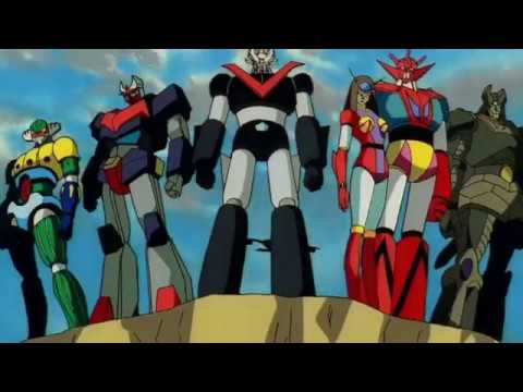 Super Robots video tribute 2018 part 1 (Mazinger Z,Great Mazinger,Getter  Robot,Jeeg etc  ) with SFX