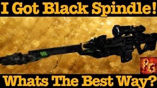 Destiny: Easiest And Best Way To Get Black Spindle!