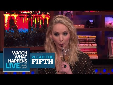 Can Jennifer Lawrence Rank The Kardashians? | Plead The Fifth | WWHL
