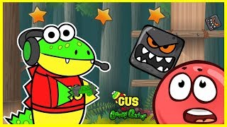 Red Ball 4 Deep Forest Let's Play with Gus the Gamer