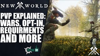 New World MMORPG - PVP EXPLAINED! Wars, Opt-in, Requirements AND MORE!