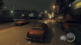 """Mafia II PC """"Night Mission!"""" (Raining) GTX470 (Max Detail, Physx Max) 1080p!"""