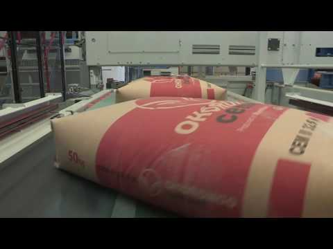 New Cement Packaging Line at Ohorongo Cement