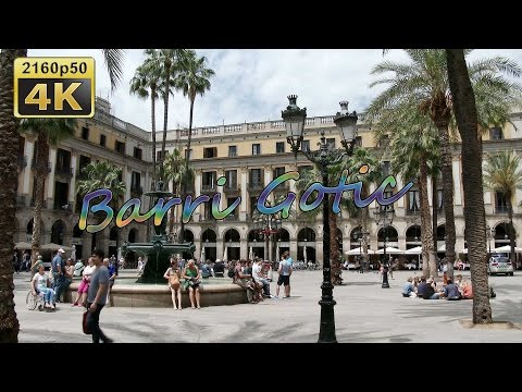 Barcelona, Barri Gotic and Back to Germany - Spain 4K Travel Channel