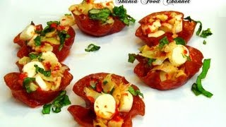 How To Make Salami Baskets Appetizer Recipe