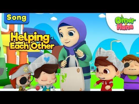 Omar & Hana | Helping Each Other | Islamic Nursery Rhymes for Children | Cartoon for Muslim Kids