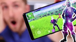 FORTNITE GALAXY SKIN FOR NOTE 9 / ANDROID | Rarest & Most Expensive Fortnite Skin ever ?
