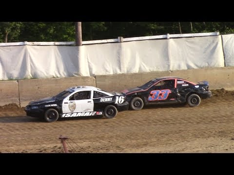 Kids Class Mini Stock Heat | Old Bradford Speedway | 7-9-17