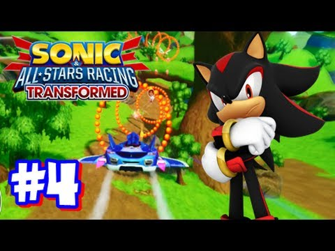 Sonic & All Stars Racing Transformed Wii U - World Tour - Part 4