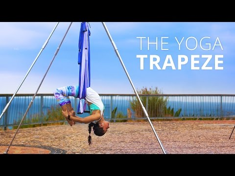 Yoga Trapeze - Yoga Inversion Swing - Try for $1!