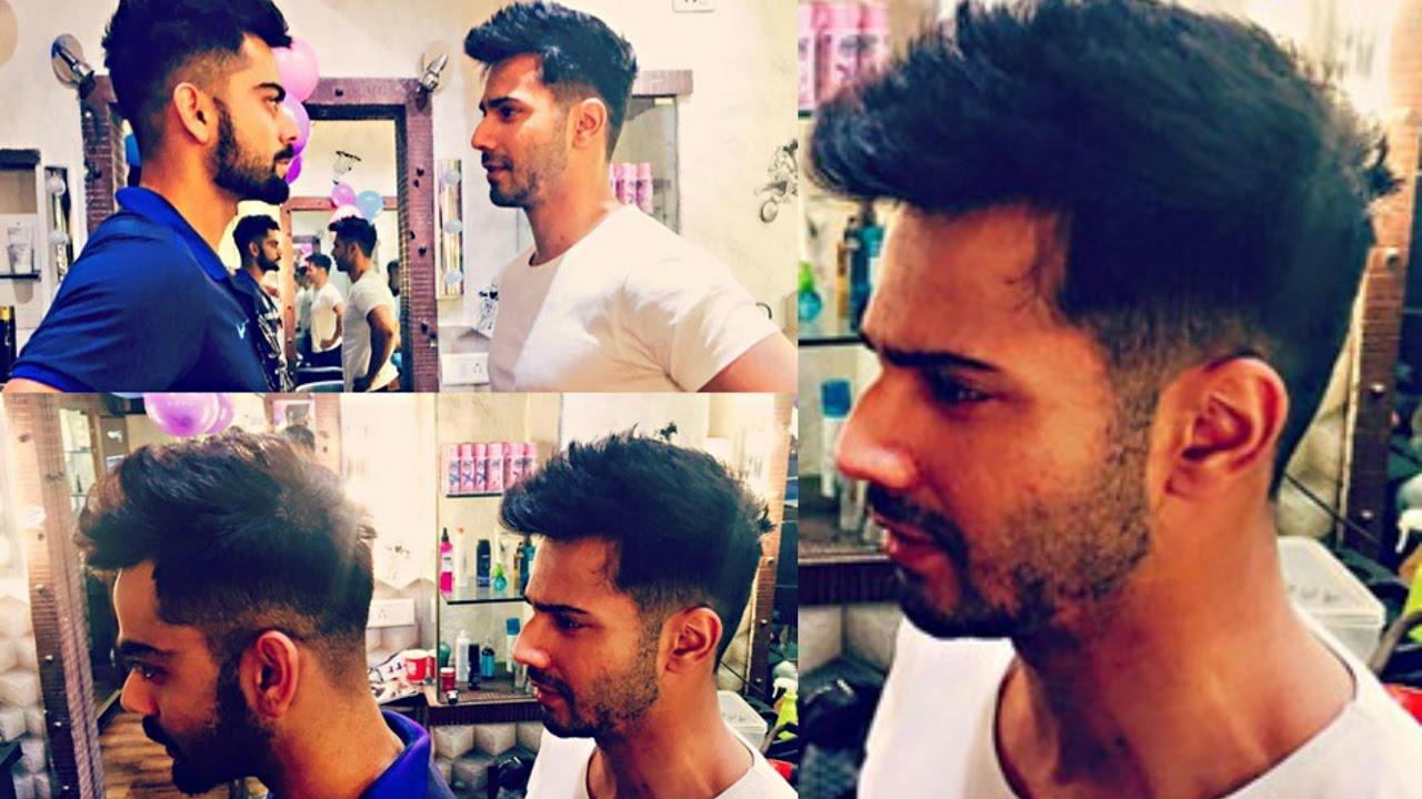 Varun Dhawan Copies Virat Kohli\u0027s Hairstyle!
