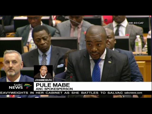 Pres Ramaphosa correcting statement shows leadership - Mabe