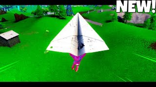 *NEW* PAPER AIR PLANE GLIDER Gameplay..! (Showcase) Fortnite Battle Royale