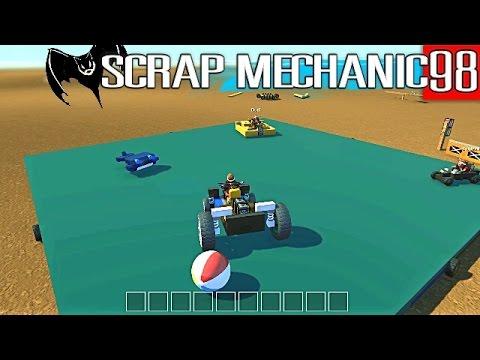 "Scrap Mechanic Maniacs 98 ""Spinning Platform Sumo"" Pt 2"