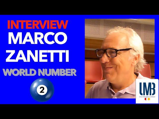 Billard CHALLENGE CUP 3C Kozoom - Interview Marco Zanetti, numéro 2 mondial ! Lège-Cap Ferret