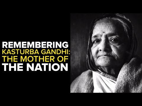 Remembering Kasturba Gandhi