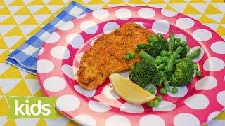 Chicken Schnitzels Recipe With Steamed Vegetables - Gluten-free & Egg-free