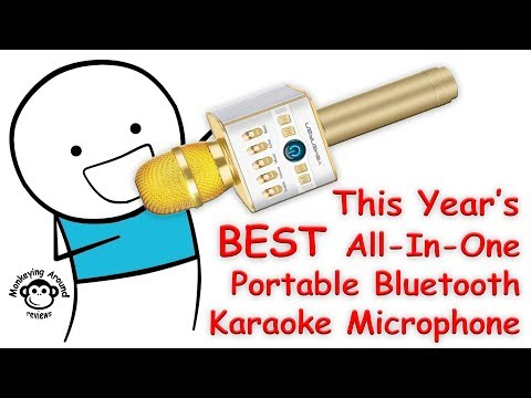 YEMENREN Bluetooth Karaoke Microphone review