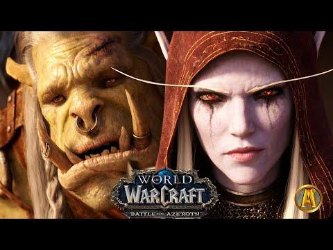 Saurfang's Mak'gora - ALL Sylvanas Cinematics [World Of Warcraft: Battle For Azeroth 8.2.5]