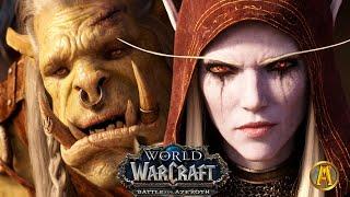Saurfang vs. Sylvanas [ALL CINEMATICS] WoW: Battle for Azeroth 8.0.3 - 8.2.5