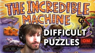 Livestream 5-22-17 | Incredible Machine: Even More Contraptions - Difficult Puzzles Pt. 1