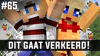 Minecraft survival #65 - DIT GAAT VERKEERD!