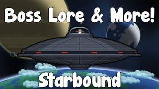 Boss Lore & More Boss Item Drops!? - Starbound Guide - Gullofdoom - Guide/Tutorial - BETA
