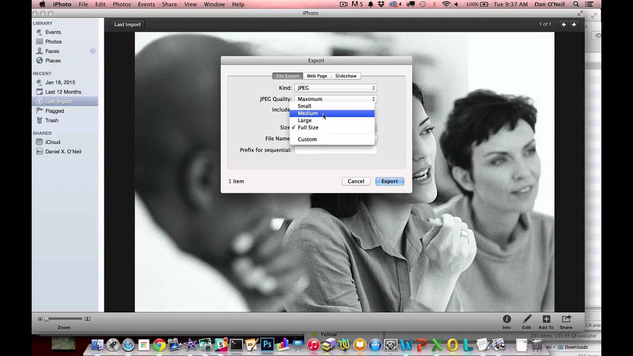 how to make a picture smaller mb on mac