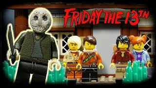 LEGO Мультфильм Пятница 13  LEGO Stop Motion Friday The 13th