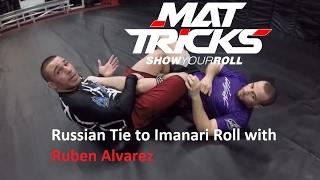 Ruben Alvarez shows a Russian Tie to Rolling Heelhook (Imanari Roll)