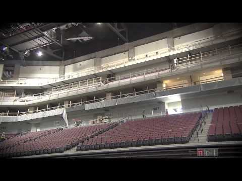 Final Walk Through Of Pinnacle Bank Arena, An NET Sports Feature
