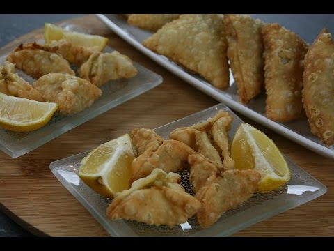 Samoussa Végétarien - Vegetarian Samosas - سمبوسة نباتي