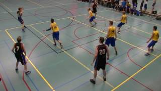10 december 2016 Cobranova U20 vs Rivertrotters U20 57-48 4th period