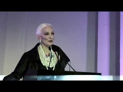 Carmen Dell'Orefice's speech at the opening of Horst: Photographer of Style