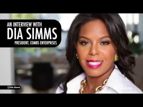 Meet Dia Simms, the Woman Who Runs Diddy's Businesses