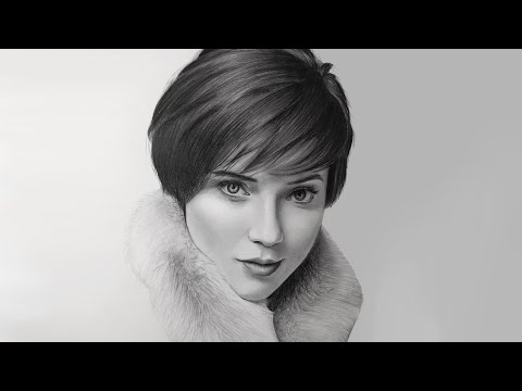 A Realistic Portrait Drawing time-lapse | Realistic Pencil drawing