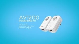 TL-PA8030P KIT, AV1200-Gigabit-Powerline-Adapter KIT