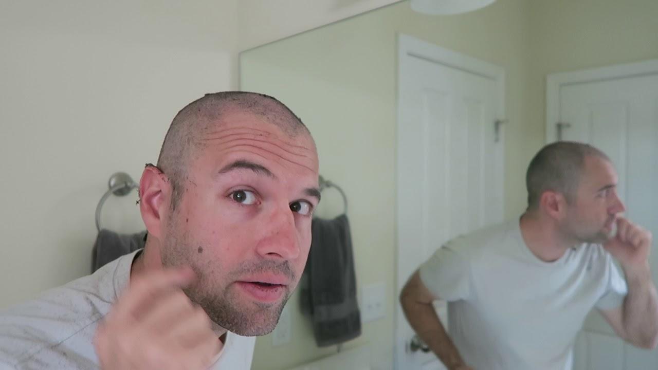 Watch Me Do Zero Guard Buzz Cut With 2 Day Beard Stubble Youtube