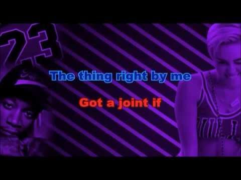 Mike Will Made It - 23 ft. Miley Cyrus (Karaoke/Instrumental) with lyrics ft. Wiz khalifa, Juicy j