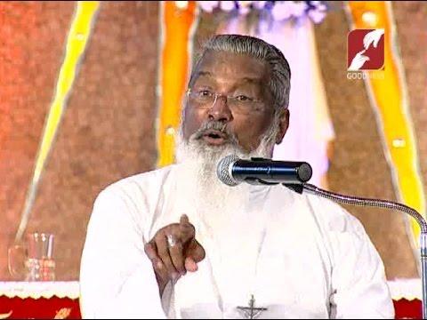 Fr. Manjackal at the Divine Center. Leaders' talk