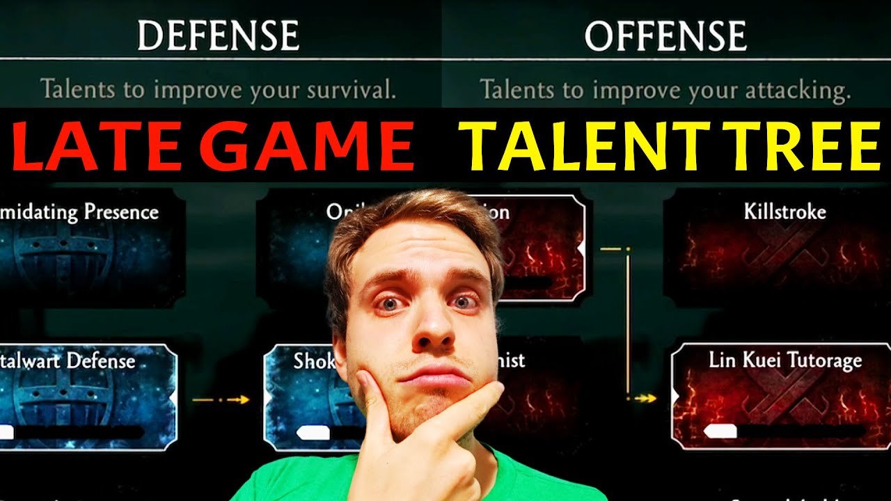 MK Mobile. Talent Tree Guide for Late Game. DEFENCE and OFFENCE are SO POWERFUL! 2021 Guide.