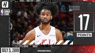 Coby White Full DEBUT Highlights Bulls vs Lakers (2019.07.05) Summer League - 17 Points!