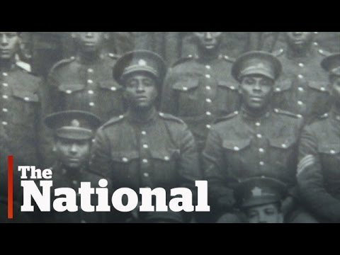 Canada's black battalion made history in WWI