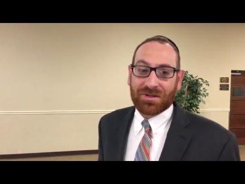Columbus Torah Academy Headmaster, Rabbi Avrohom Drandoff on Daniel Steinberg, Comedian