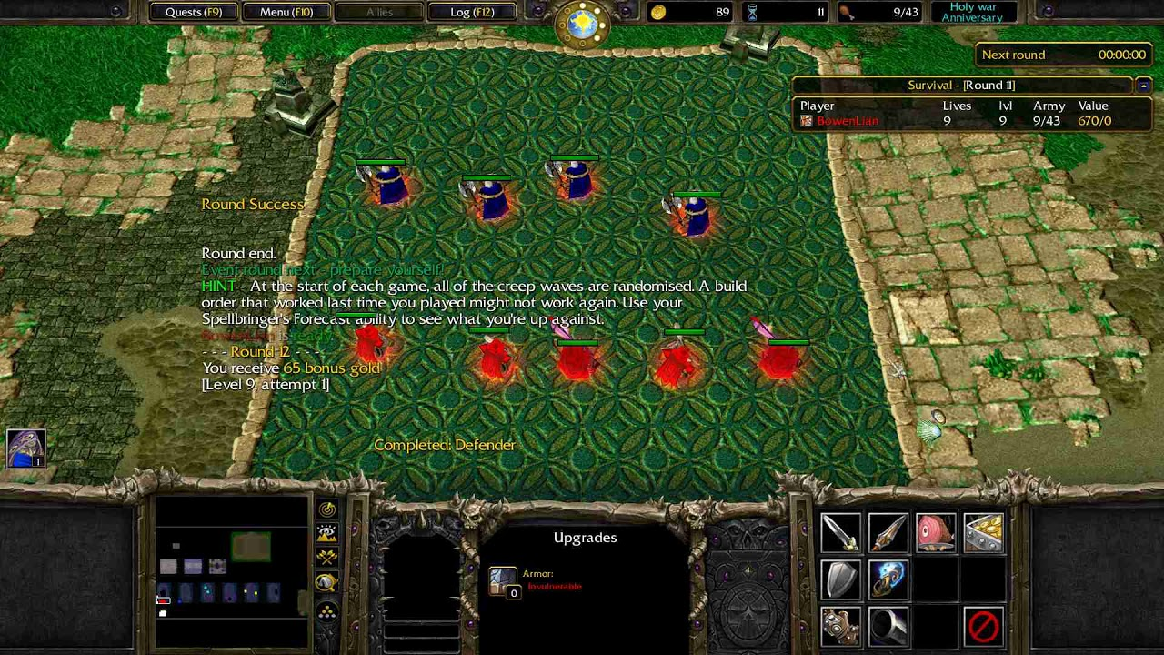 Holy War: Anniversary 1 1a | HIVE