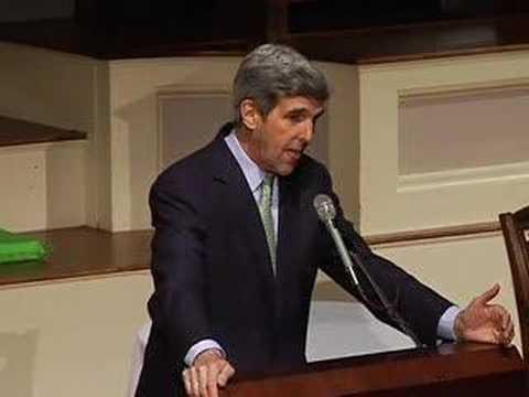 Senator John F. Kerry at COWC 40th Anniversary Dinner